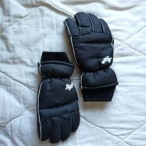 HOT PAWS Girls fleece lined winter gloves Sz: M